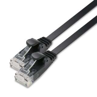 LD-GF2/BK5 LANケーブル ブラック [5m /カテゴリー6 /フラット]