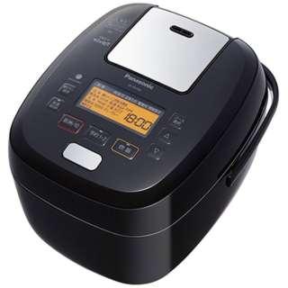 SR-PA108-K 炊飯器 可変圧力おどり炊き ブラック [5.5合 /圧力IH]