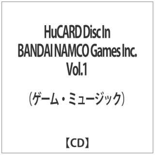 HuCARD Disc In BANDAI NAMCO Games Inc.Vol.1 【CD】