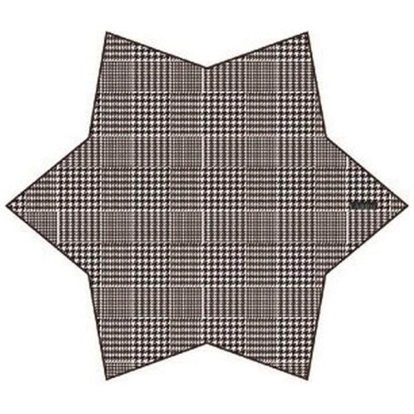 FABRIC[ファブリック]メガネ拭きポケットチーフ(ブラックハウンドトゥース)FBS-201
