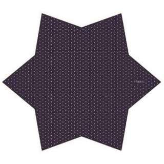 FABRIC[ファブリック]メガネ拭きポケットチーフ(ネイビードット)FBS-204