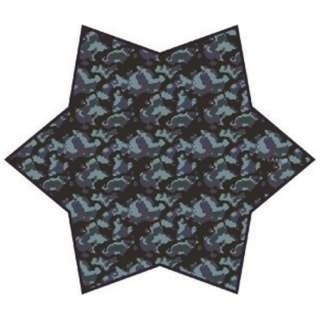 FABRIC[ファブリック]メガネ拭きポケットチーフ(ネイビーカモフラージュ)FBS-205