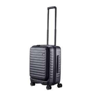 スーツケース 37L(42L) CUBO ブラック N-Cubo-S [TSAロック搭載]