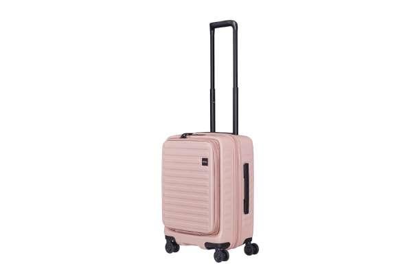 スーツケースのおすすめ11選 ロジェール「CUBO(キューボ)」ローズ(42L)