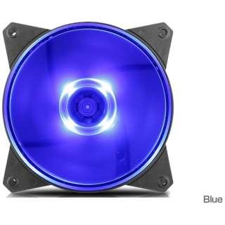 ケースファン[120mm / 1200RPM] MasterFan MF120L R4-C1DS-12FB-R1 Blue LED