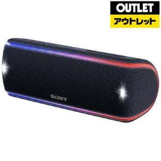 【アウトレット品】 ブルートゥース スピーカー [Bluetooth対応] SRS-XB31BCJE  ブラック<海外仕様モデル> 【生産完了品】