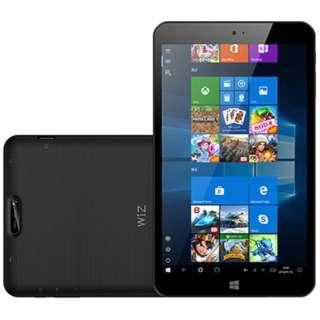 KI8-BK Windowsタブレット WIZ ブラック [8.0型 /intel Atom /eMMC:32GB /メモリ:2GB /2018年4月モデル]