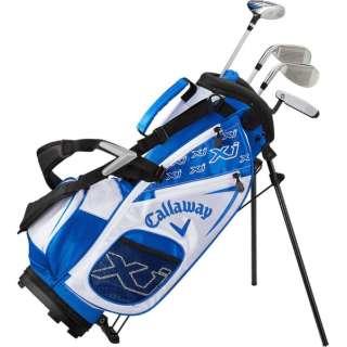 ジュニアゴルフクラブセット  XJ 1 ジュニアセット(4本セット/キャディバッグ付/身長:100~120cm向け)