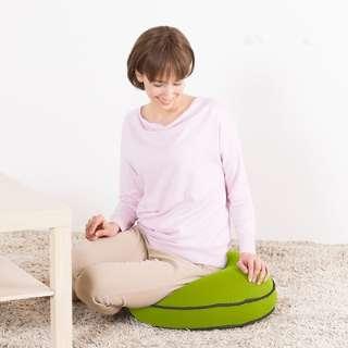 【店舗限定販売】 Yogibo Round Pillow ライムグリーン