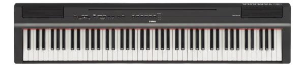ヤマハ 電子ピアノ P-125B 電子楽器