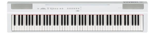 ヤマハ 電子ピアノ P-125WH 電子楽器