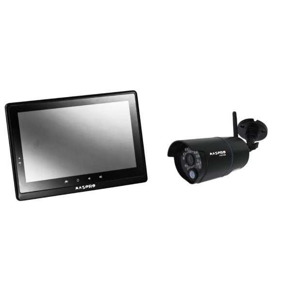 モニター&ワイヤレスHDカメラセット(10インチモニター) WHC10M2