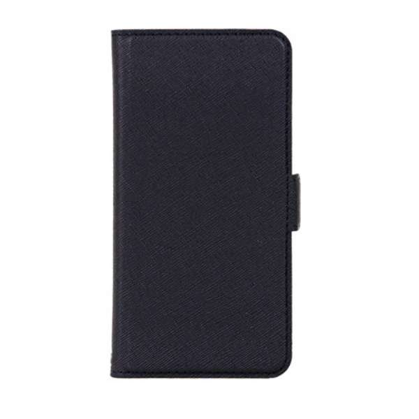 PB iPhone8/7 サフィアーノ調落下防止手帳ケース BKSIP8T06 プレミアムブラック