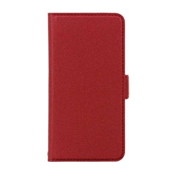 PB iPhone8/7 サフィアーノ調落下防止手帳ケース BKSIP8T09 ワインレッド