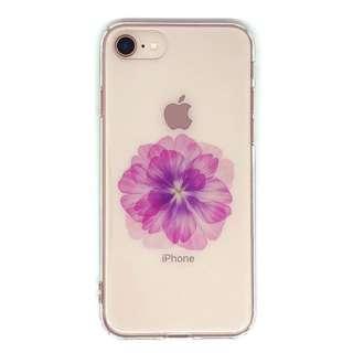 PB iPhone8/7 FLORAL STYLE ビューティー・ピーオニー BKSFLWCV01 クリア