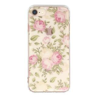 PB iPhone8/7 FLORAL STYLE アンティーク・ローズ BKSFLWCV02 クリア