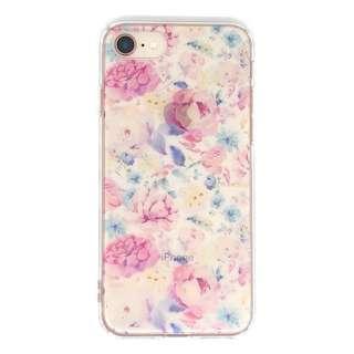 PB iPhone8/7 FLORAL STYLE ロマンティック・ローズ BKSFLWCV03 クリア