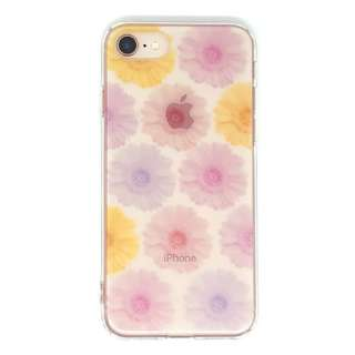 PB iPhone8/7 FLORAL STYLE キューティー・ガーベラ BKSFLWCV04 クリア