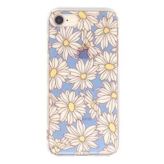 PB iPhone8/7 FLORAL STYLE リフレッシュ・デイジー BKSFLWCV09 クリア
