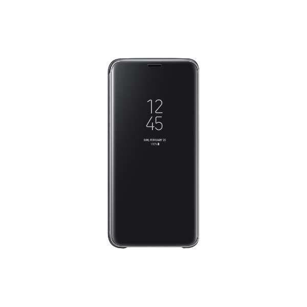 【サムスン純正】Galaxy S9用CLEAR VIEW STANDING COVER 手帳型ケース EF-ZG960CBEGJP ブラック