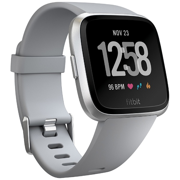 Fitbit Versa FB505SRGY-CJK [グレーベルト]