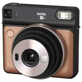 インスタントカメラ 『チェキ』 instax SQUARE SQ6 ブラッシュゴールド