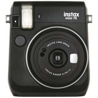 インスタントカメラ 『チェキ』 instax mini 70N ブラック