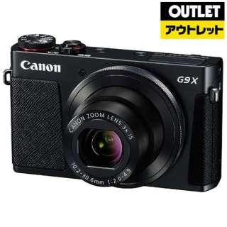 【アウトレット品】 PSG9X コンパクトデジタルカメラ PowerShot(パワーショット) ブラック 【生産完了品】