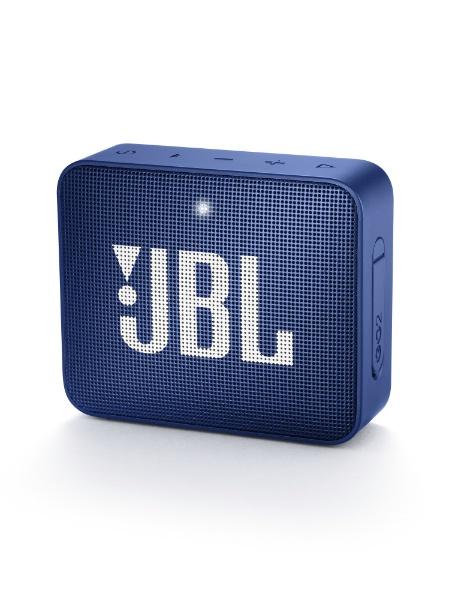 JBL GO2 Bluetoothスピーカー IPX7防水 ポータブル パッシブラジエーター搭載 ブルー JBLGO2BLU