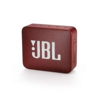 JBLGO2RED ブルートゥース スピーカー レッド [Bluetooth対応 /防水]