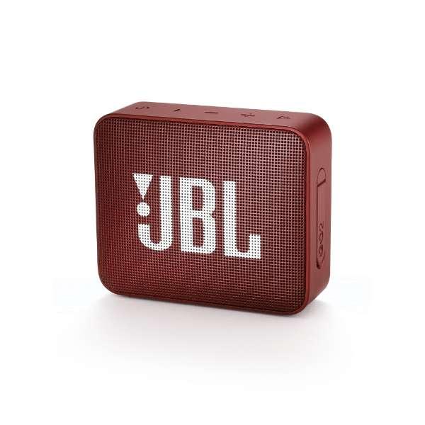 ブルートゥース スピーカー JBLGO2RED レッド [Bluetooth対応 /防水]