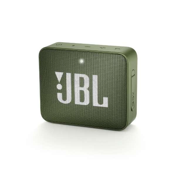 ブルートゥース スピーカー JBLGO2GRN グリーン [Bluetooth対応 /防水]