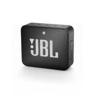 ブルートゥース スピーカー JBLGO2BLK ブラック [Bluetooth対応 /防水]
