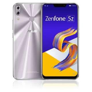 Zenfone 5Z Series スペースシルバー ZS620KL-SL128S6  Snapdragon 845 6.2型ワイド メモリ/ストレージ: 6GB/128GB nanoSIM x2 DSDV対応 ドコモ/au/ソフトバンクSIM対応 SIMフリースマートフォン