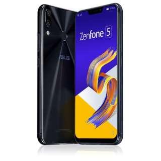 Zenfone 5 Series シャイニーブラック ZE620KL-BK64S6  Snapdragon 636 6.2型ワイド メモリ/ストレージ: 6GB/64GB nanoSIM x2 DSDV対応 ドコモ/au/ソフトバンクSIM対応 SIMフリースマートフォン