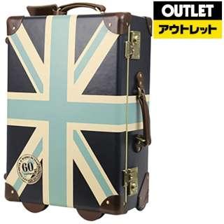 【アウトレット品】 スーツケース ファイバートランクケース 30L ROYAL(ロイヤル) ユニオンジャックグレイ 7301-50-UJG [TSAロック搭載] 【生産完了品】