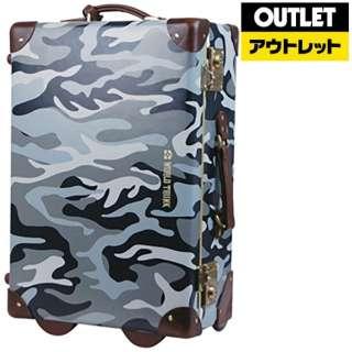 【アウトレット品】 スーツケース ファイバートランクケース 30L ROYAL(ロイヤル) カモフラージュグレイ 7301-50-CGY [TSAロック搭載] 【生産完了品】
