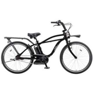 【eバイク】 26型 電動アシスト自転車 ビーピー ゼロツー(ジェットブラック/内装3段変速)BE-ELZC63AB【2018年モデル】 【組立商品につき返品不可】
