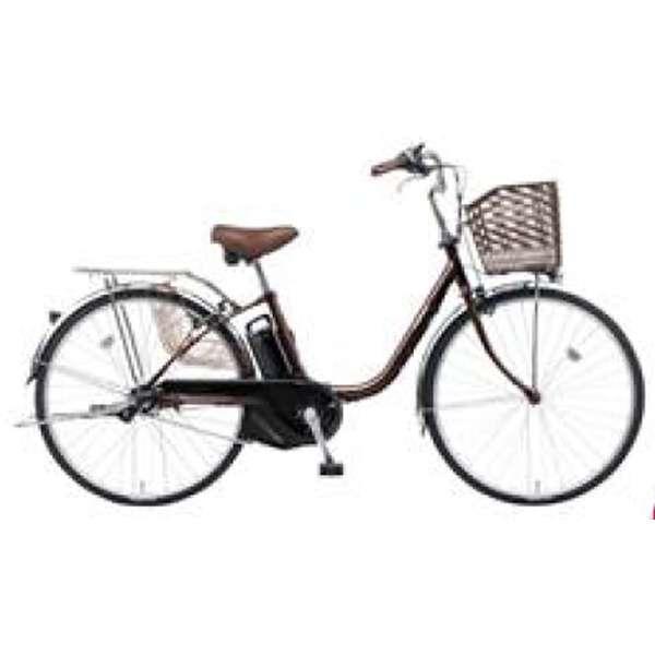 26型 電動アシスト自転車 ビビ・SX(チョコブラウン/内装3段変速)BE-ELSX63T【2018年モデル】 【組立商品につき返品不可】