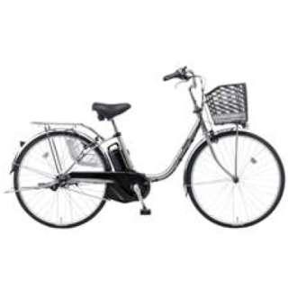 26型 電動アシスト自転車 ビビ・SX(モダンシルバー/内装3段変速)BE-ELSX63S【2018年モデル】 【組立商品につき返品不可】