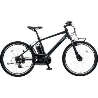【eバイク】 26型 電動アシスト自転車 ハリヤ(マットナイト/外装7段変速) BE-ELH242B【2018年モデル】 【組立商品につき返品不可】