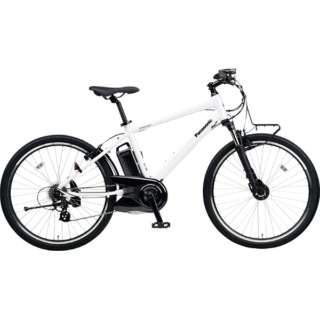 【eバイク】 26型 電動アシスト自転車 ハリヤ(クリスタルホワイト/外装7段変速) BE-ELH242B【2018年モデル】 【組立商品につき返品不可】