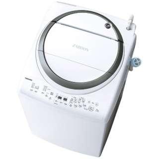 AW-8V7-S 縦型洗濯乾燥機 ZABOON(ザブーン) シルバー [洗濯8.0kg /乾燥4.5kg /ヒーター乾燥(排気タイプ) /上開き]