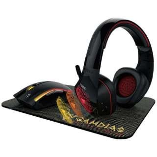 Artemis E1 ゲーミングヘッドセット Artemis [φ3.5mmミニプラグ+USB /両耳 /ヘッドバンドタイプ]