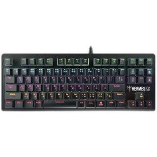 Hermes E2 RED ゲーミングキーボード 赤軸 Hermes E2 [USB /有線]
