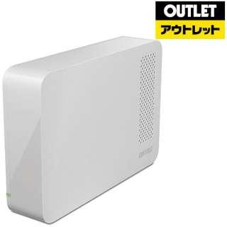 【アウトレット品】 HD-LC3.0U3-WHF 外付けHDD ホワイト [据え置き型 /3TB] 【生産完了品】