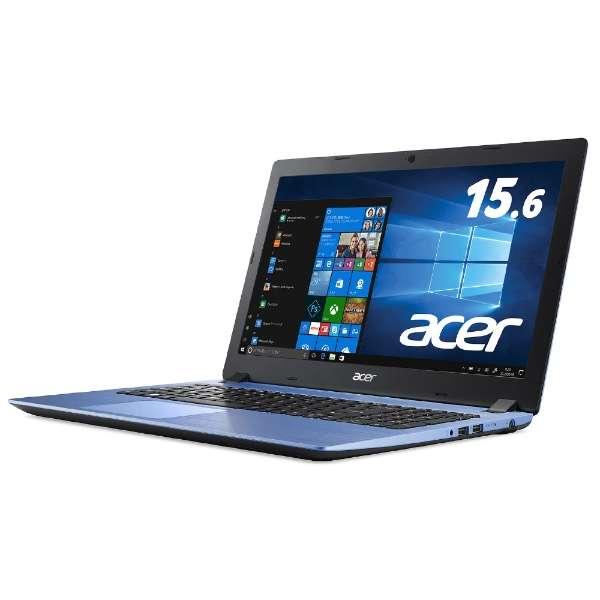Aspire 3 ノートパソコン ストーンブルー A315-32-N14U/BF [15.6型 /intel Celeron /SSD:256GB /メモリ:4GB /2018年5月モデル]