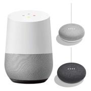 Smart Speaker Google Home GA3A00538A16 + Google Home Mini (chalk) GA00210JP + Google Home Mini (charcoal) GA00216JP HOME+MINI