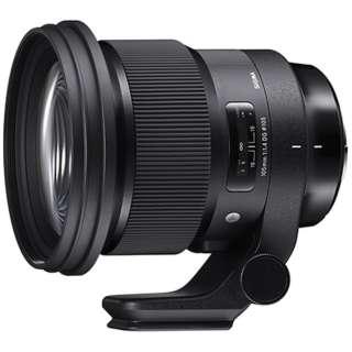 カメラレンズ 105mm F1.4 DG HSM Art ブラック [ニコンF /単焦点レンズ]