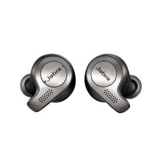 フルワイヤレスイヤホン Elite 65t Titanium Black 100-99000000-40-R [リモコン・マイク対応 /ワイヤレス(左右分離) /Bluetooth]